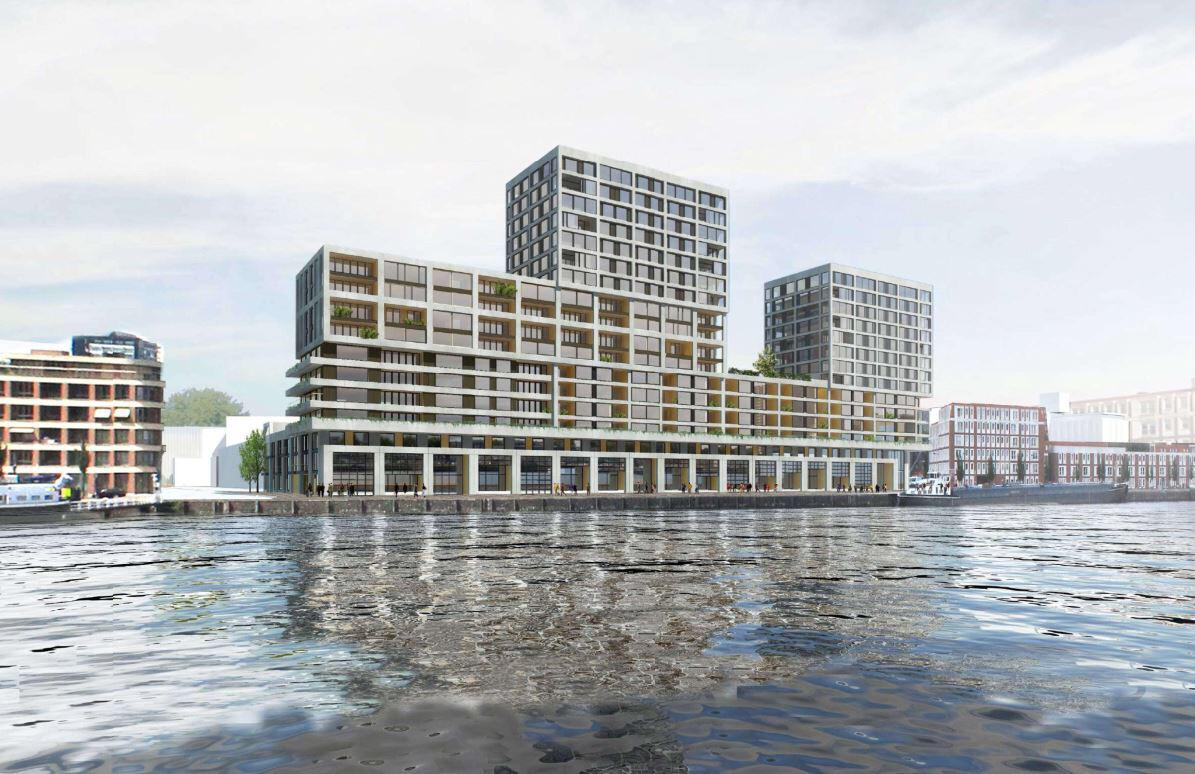 Start bouw Havenkwartier Rotterdam